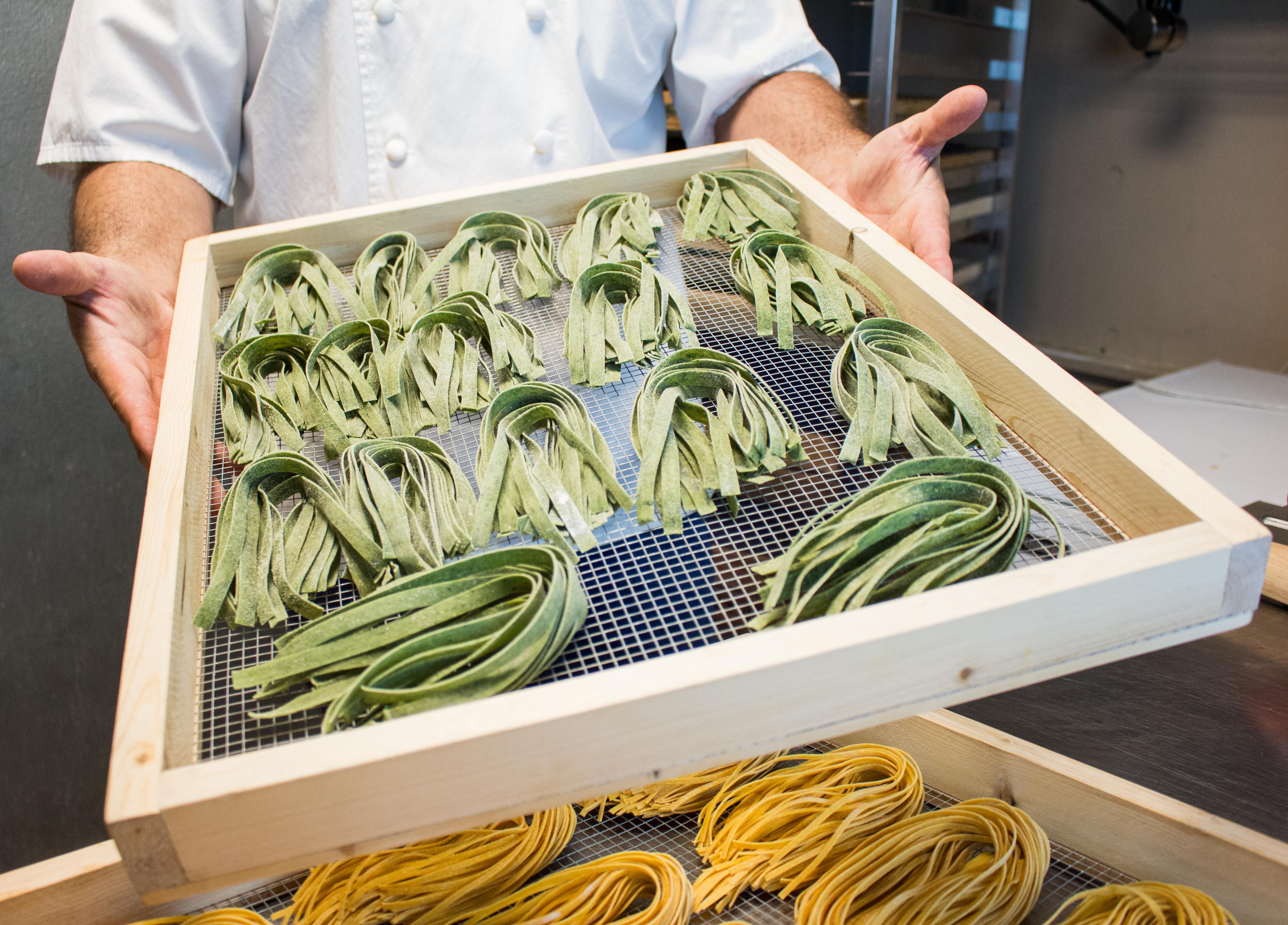 fresh handmade pasta at Franco's Italian Restaurant